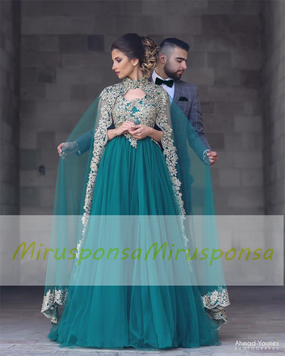 Mirusponsa 2017 Elegant Robe Soiree Dubai Kaftan Dress Arabic ...