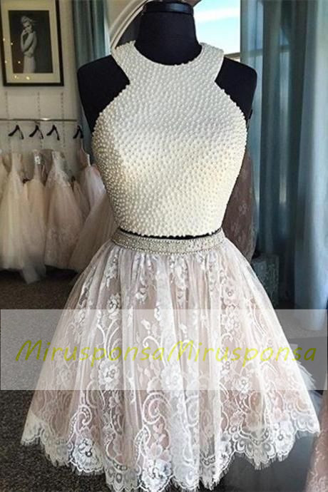 Mirusponsa Prom Dresses Pearl Prom Dresses Cute 8th Grade